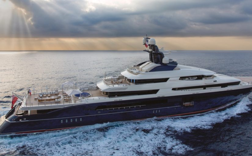 Take a look inside the glitzy, 300-foot superyacht involved in the 1MDB scandal that's now on the market at a $120 million discount