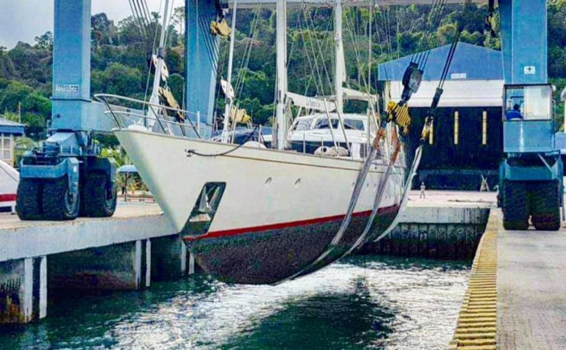 "With new modern internal refitting & engine replacements, Superyacht ""La Num…"