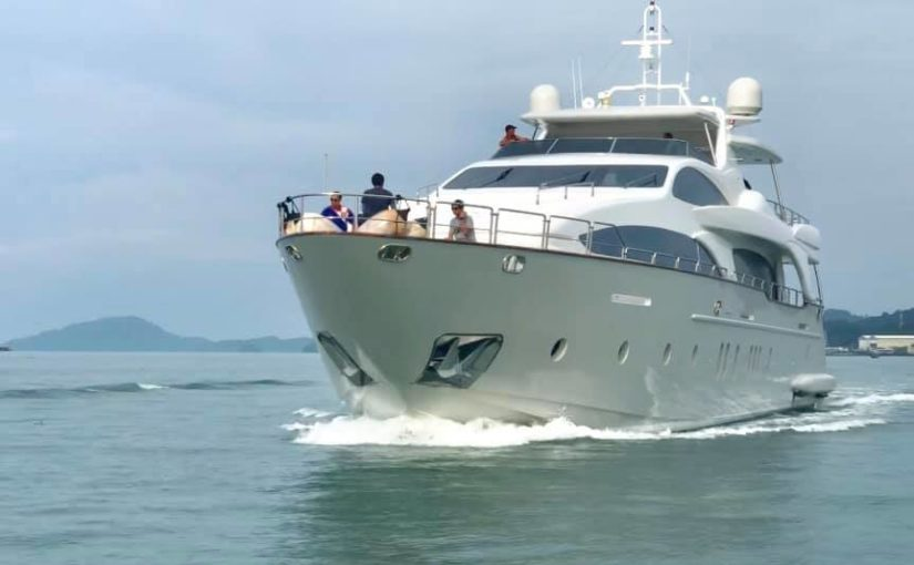 Marine Media was present during the latest sea trials aboard 116 Azimut in Malay…